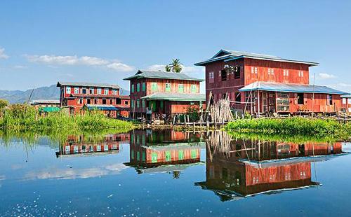 Burma-houses
