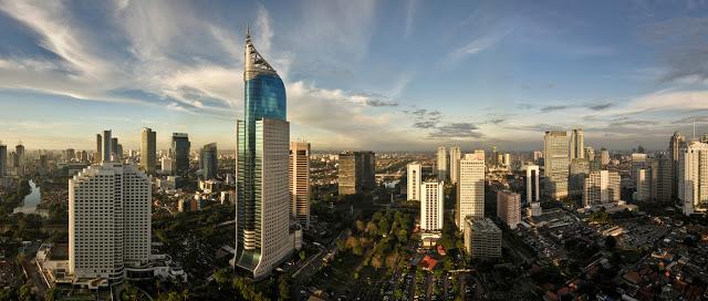 Jakarta-indonesia-skyline