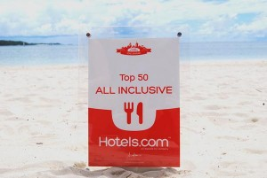 Best for All Inclusive beach close up
