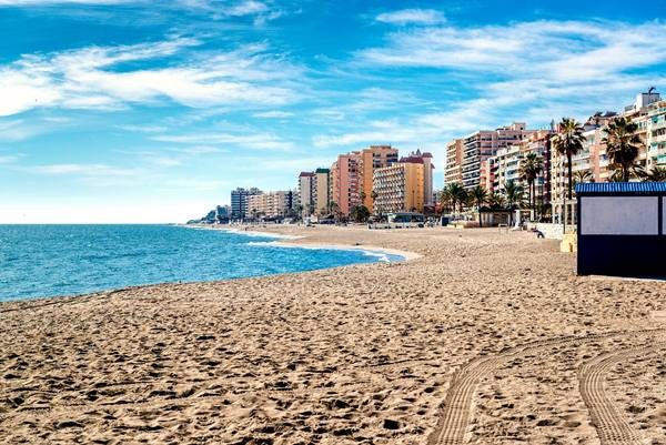 Fuengirola beach. Costa del Sol. Malaga, Andalusia. Spain