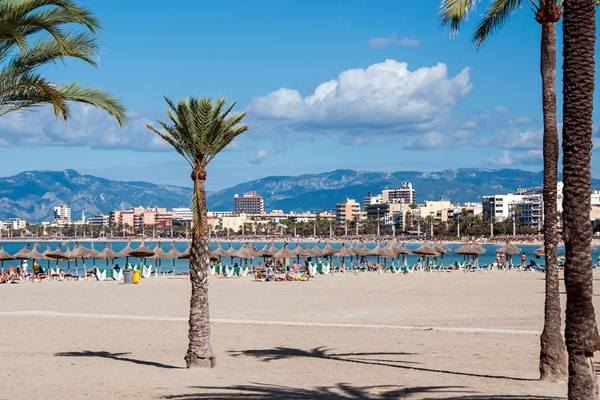 Overlooking the famous and infamous Playa de Palma, Mallorca